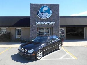 2005 Mercedes-Benz C-Class KOMPRESSOR! AS TRADED! CHANCE TO WIN