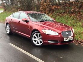 Late 09 Jaguar XF 3.0D V6 Luxury Auto + extras ,only 93k fsh, trade in welcome credit cards accepted