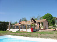 Tranquil 1 Bed Gite with Pool for 4 in Charente Maritime, FRANCE, close to all Tourist locations.