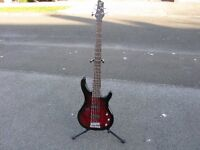 Squier by Fender 5 String Bass Guitar