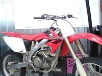 CRF 450 HONDA 2005