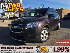 2014 Chevrolet Trax 1LT LOW KMS!!  LUGGAGE RACK KEYLESS ENTRY