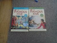 2 x Famous Five Books