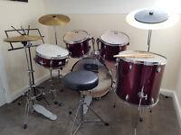 Full size CB drum kit
