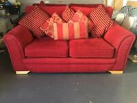 Red Cord 2 seater & 3 seater Sofa