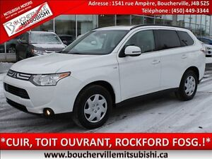 2014 Mitsubishi Outlander GT*CUIR, TOIT OUVRANT, MAGS 18PO*