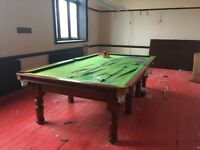 Snooker Table (Full Size) 5 Slabs (Collection only)