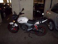 KSR Code 125cc motorbike