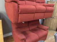 G-plan 3 & 2 seater sofas