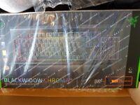 Razer Blackwidow V2 Keyboard orange keys US layout *BRAND NEW*