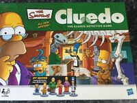 Simpsons Cluedo Board Game