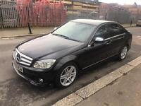 Mercedes-Benz C Class Saloon (2009) 3.0 C320 CDI Sport 7G-Tronic 4dr Automatic black