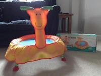 Toddler's trampoline indoor or outdoor 1-3 years