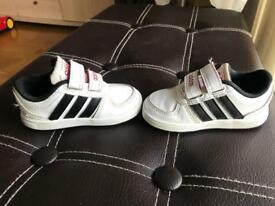 Boys Adidas shoes, Used but cleaned and good condition.