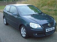 2008 VW POLO 1.4 TDI 1 OWNER FULL SERVICE HISTORY £30 PER YEAR ROAD TAX