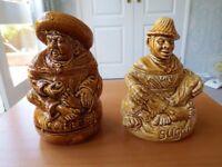 Vintage Sadler Coffee And Sugar Jars
