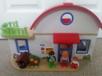 PLAYMOBIL 123 Suburban House Set