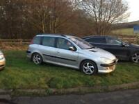 2003 Peugeot 206 sw , 20hdi dt
