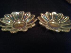 4 Bols en verre iridescent glass bowls Gatineau Ottawa / Gatineau Area image 2