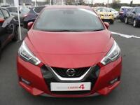 Nissan Micra IG-T TEKNA (red) 2017-09-28
