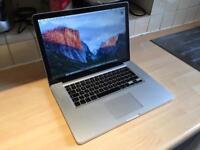 "15"" MacBook Pro | 16GB RAM | 500GB SSD | 3.3GHz Core i7 | Adobe CS6, Logic Pro, non- Retina"