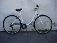 Ladies Hybrid/ Commuter Bike by Activ, White, Runs Fine, Great Condition, JUST SERVICED/ CHEAP PRICE
