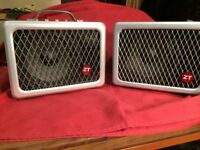 ZT Lunchbox Combo Amplifier with ZT Extension Cabinet and Padded Carry Bag