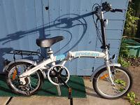 Proteam 6 Speed Folding Bike