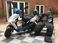 DEAL NOT TO BE MISSED!!! Lexmoto Echo moped in great condition, comes with the full set.