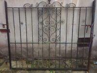 Cast Iron Garden Gate