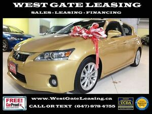 2011 Lexus CT 200h | REAR VIEW CAM | LEATHER | SUNROOF |