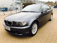 BMW 318Ci,Coupe, 2006,Petrol,S.HISTRY,Manual,Long Mot,Hpi Clear,2 OWNERS