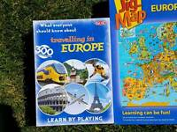 Europe Jigsaw and game