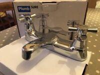 Brand new Bath Taps Plumb sure