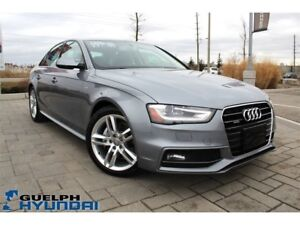 2015 Audi A4 LEATHER,NAV,SUNROOF & MORE!