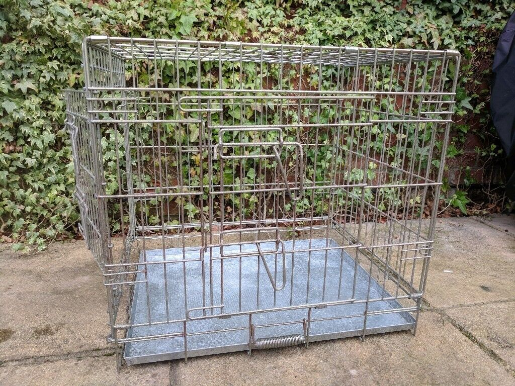 Small dog/puppy crate, used.