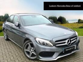 Mercedes-Benz C Class C220 D AMG LINE PREMIUM PLUS (grey) 2016-09-22