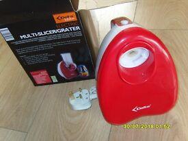 Electric Multi-Slicer/Grater