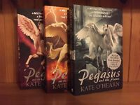 "'Pegasus' series of three books. BRAND NEW. ""A magical and mighty read"" for teens."