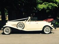 £13500 QUICK SALE, VINTAGE BEAUFORD CONVERTABLE, CLASSIC WEDDING CAR (open to offers)