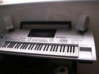 Tyros keyboard