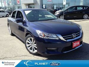 2014 Honda Accord Touring 4 CYLINDER LEATHER NAVI MOONROOF