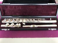 Yamaha YFL311 Flute, silver