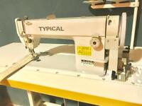 Typical GC-0302 walking foot industrial sewing machine