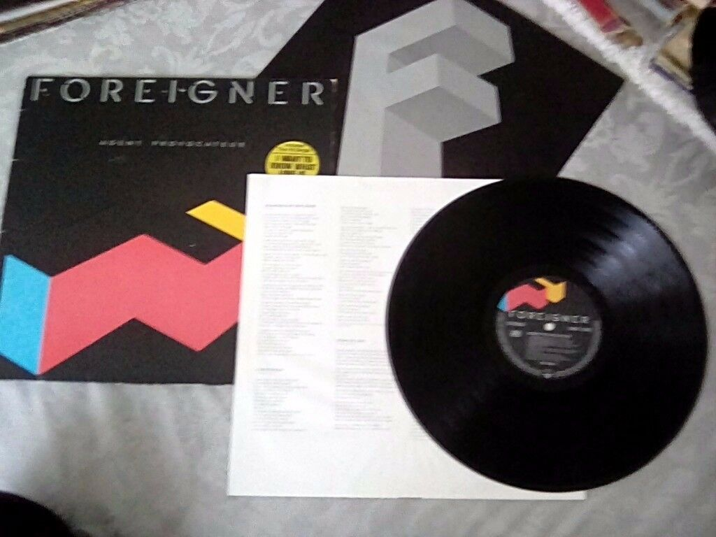 Foreigner Agent Provocateur Album