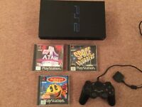Sony PlayStation 2 PS2 Console and Games