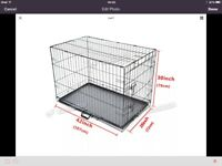 New XL dog cages
