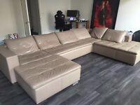 Bo Concept Mezzo Leather Sofa