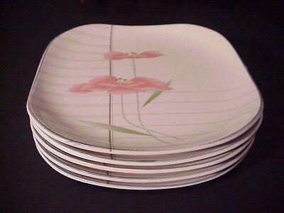 Sango Quadrille SAVOIR FAIRE Salad Plates - Set of 5