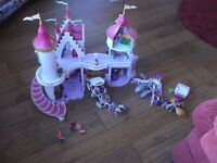 Playmobil Princess Fantasy Castle with additional sets